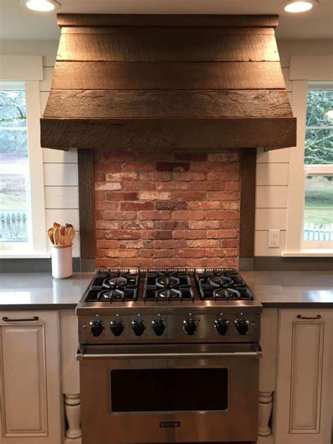 thin brick kitchen backsplash reclaimed thin brick wall veneer farm