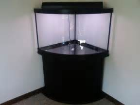 54 Gallon Corner Fish Tank