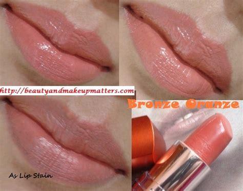 Lipstick Bronze Orange Maybelline maybelline color sensational moisture lipstick bronze orange review swatches lotd