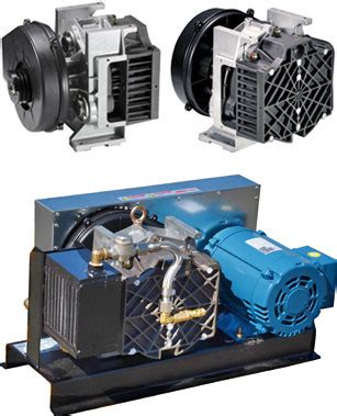 less rotary scroll air compressors