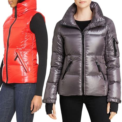 Lust List Shearling Puffer Vest by Dkny Faux Fur Trim Hooded Puffer Coat Rank Style