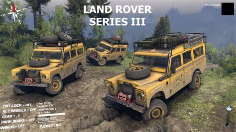mini land rover land rover series iii mini log trailer v 2 1 spintires