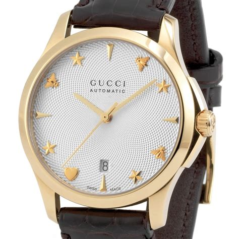Gucci G80861a Combi Gold swisstime gucci g timeless automatic