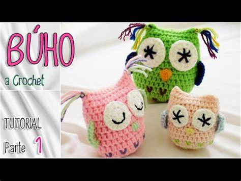 instrucciones para tejer buhos tutorial c 243 mo tejer un b 250 ho a crochet parte 1 de 2 youtube