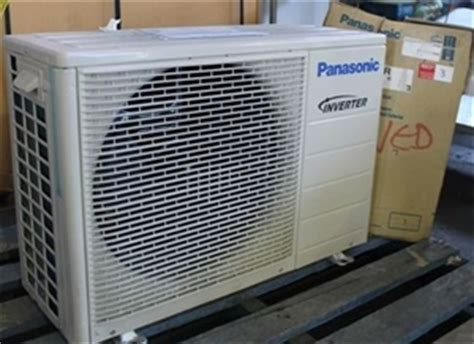 Ac Panasonic Model Cu Yn9rkj panasonic cu e12jkr air conditioner outdoor unit auction