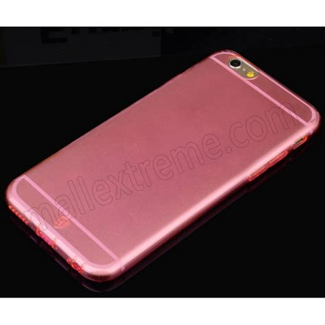 Hp Iphone 6 Pink baseus simple series 0 7mm slim tpu gel for iphone 6 6s 4 7 inch transparent pink 33268