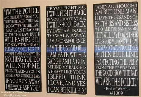police officer home decor sheepdog law enforcement quotes