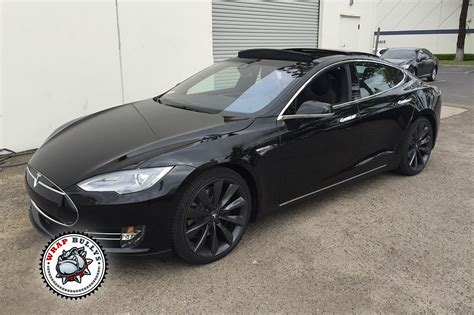 matte wrapped cars tesla wrapped in 3m matte black car wrap wrap bullys