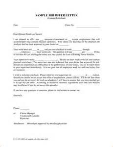 Appointment Letter Format For Apprentice 7 Employment Offer Letter Sample Rejection Letters
