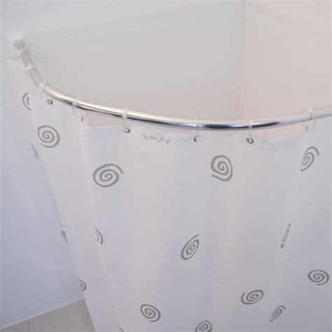bastone tenda doccia ridder 594000 350 bastone rotondo in cromo per tenda