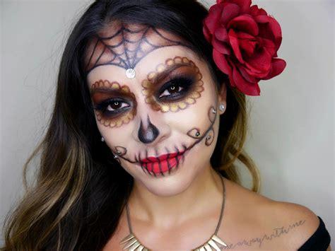 makeup dia glam sugar skull makeup tutorial dia de los muertos