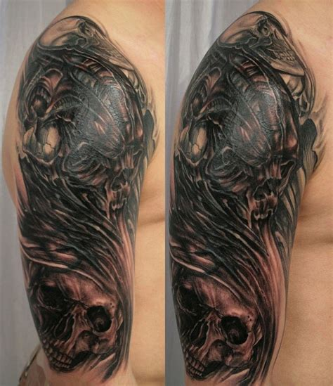 hannikate pics of skulls tattoos