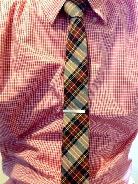 gingham shirt and plaid tie mens looks