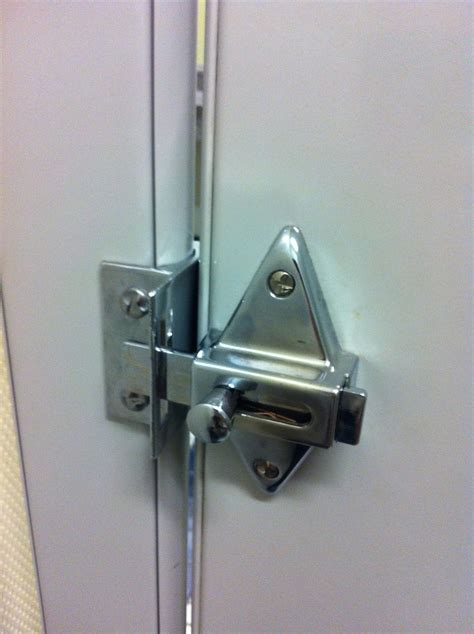 how to fix bathroom stall lock bathroom partition fix it