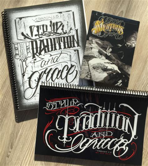 tattoo lettering books two great lettering books from big meas education