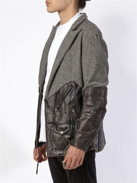 Blazer Combi greg combi jacket in black for lyst