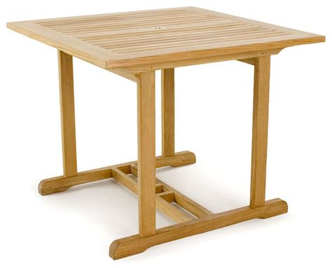 36 square end table horizon teak 36 inch square table modern side tables