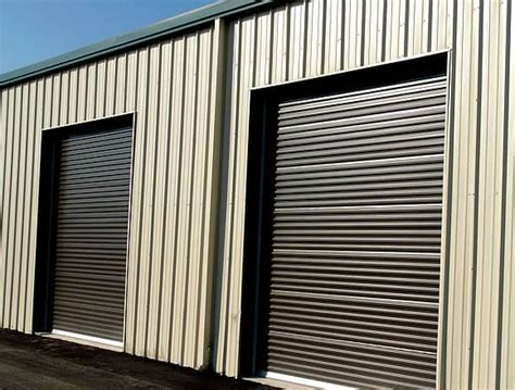 Metal Roll Up Doors by Roll Up Doors For Metal Building Or Steel Building