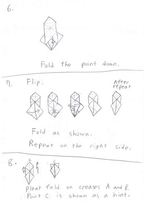 How To Make A Origami Yoda Step By Step - how to make origami yoda step by step 28 images