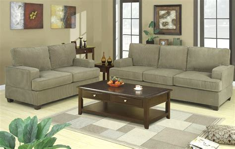 corduroy sofa and loveseat corduroy fabric sofa and loveseat set 7149 ebay