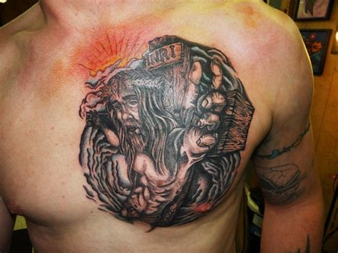 tattoo chest gangster gangster tattoos design ideas for men gangster tattoos