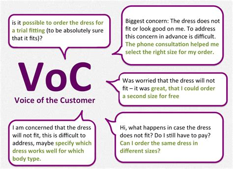 voice of the customer template mindberry how we seduced to dress up and grew