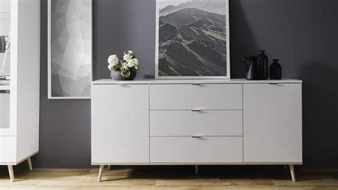 Sideboard Skandinavisches Design by Sideboard G 214 Teborg Kommode In Wei 223 Sonoma Eiche