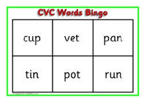 Cvc Co Puspita Blue cvc words bingo sb3400 sparklebox