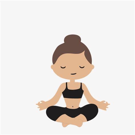 imagenes yoga vector yoga cartoon yoga vector yoga girls png and vector for