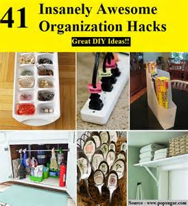 Life Hacks For Home Organization 41 Insanely Awesome Organization Hacks Home And Life Tips