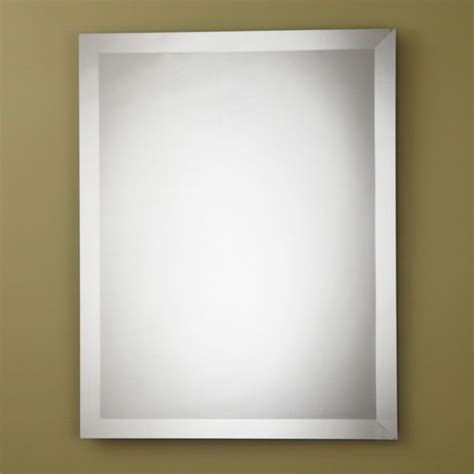 unframed bathroom mirrors decoraport frameless square bathroom vanity wall