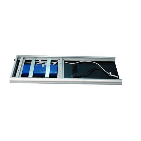 Lu Led Integra luminarias led solares 50w serie aio panel solar integrado
