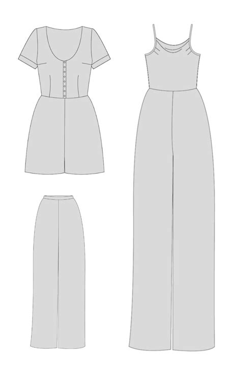 holly jumpsuit pattern review by hand london holly jumpsuit