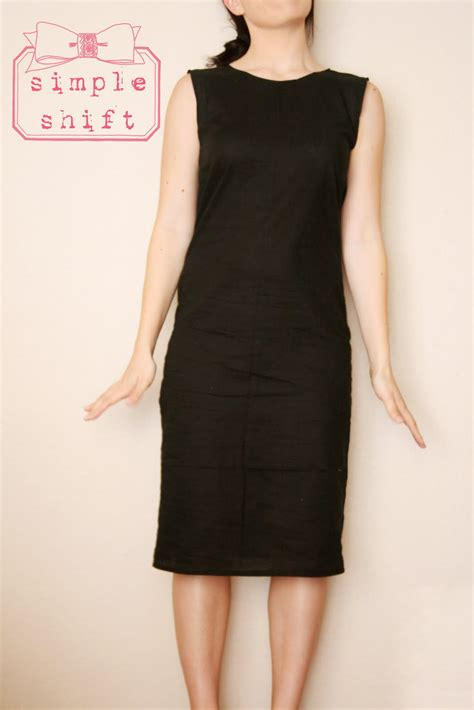Vacia Simply Black S M Dress free dress patterns for dresses