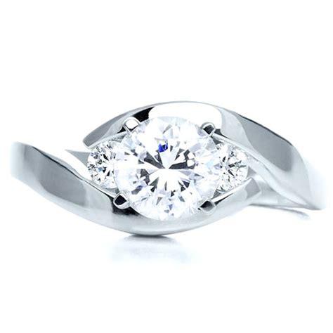 three engagement ring 214