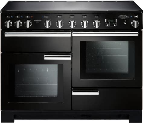 electric induction range cookers 110cm buy rangemaster pdl110eigb c professional deluxe 110 induction black 110cm electric induction
