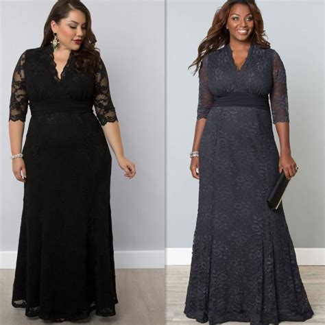 Delsa Blue Dress Gamis Maxi Fashion Style Plus Size Evening Gowns Sleeves Black Grey Lace