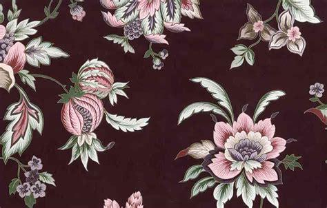 Dramatic Wallpaper For Powder Room - maroon floral vintage wallpaper pink rose green gold metallic 24702
