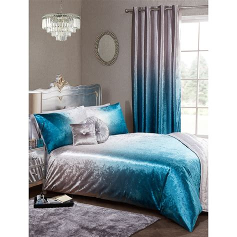 full ombre velvet duvet set king bedding bm