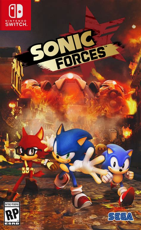 Nintendo Switch Sonic Forces Standard Edition sonic forces nintendo switch cover by nathanlaurindo on deviantart