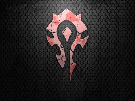 Samsung Galaxy S6 World Of Warcraft Horde Logo Casing Cover horde wallpapers wallpaper cave