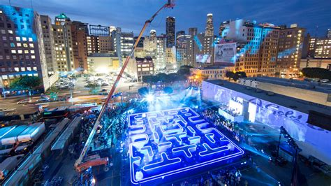 interactive pac inspiration bud light s new pac projection mapping