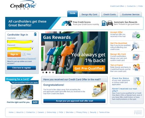 credit one credit one bank bill pay quick bill pay