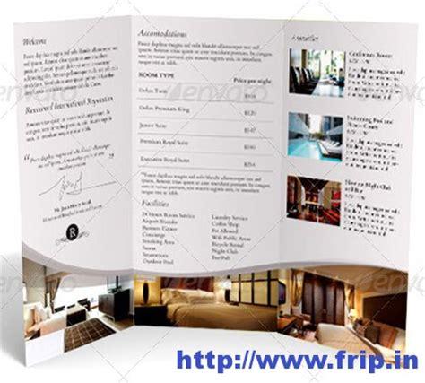 hotel brochure template 50 best hotel brochure print templates 2016 frip in