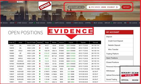 binary banc binary banc review scam broker exposed binary scam alerts