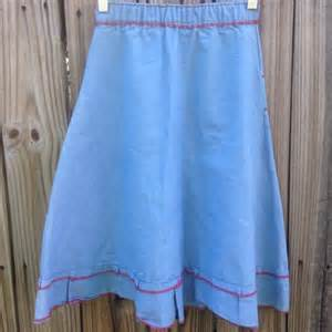 vintage vintage 70s denim skirt from weekendbehavior s