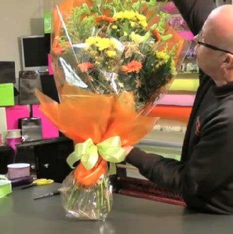 How to Wrap a Flower Presentation Bouquet