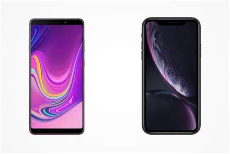 samsung galaxy a9 vs iphone xr affordable smartphone showdown