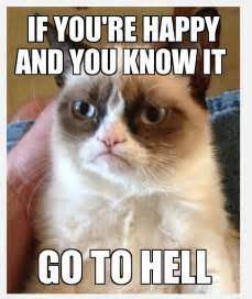You knew grumpy cat had to make an appearance in this blog eventually