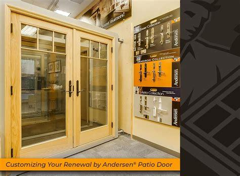 Patio Doors San Antonio Customizing Your Renewal By Andersen 174 Patio Door